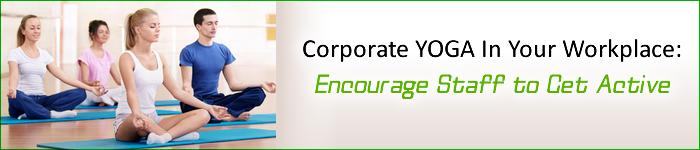 Corporate Fitness Training- Yoga