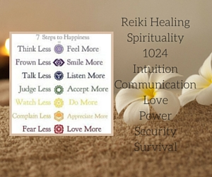 Reiki HealingSpirituality1024IntuitionCommunicationLovePowerSecuritySurvival